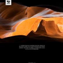 Aarde op 1 - Antelope Canyon USA 2015 - Petra de Groot