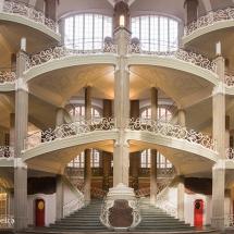 Berlijn rechtbank binnen © fotografiepetra