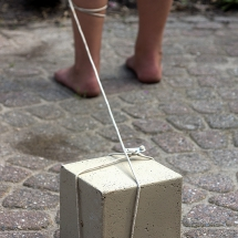 Blok aan mijn been © fotografiepetra