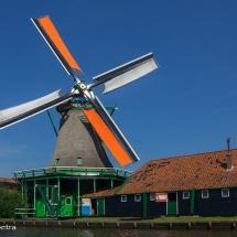 Oliemolen De Bonte Hen, Zaanse Schans © fotografiepetra