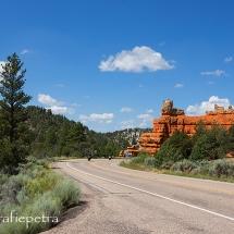 Red Canyon NP de weg © fotografiepetra