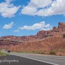De weg door Capitol Reef NP © fotografiepetra