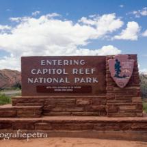 Entree Capitol Reef NP © fotografiepetra