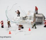 Kapotte Lamp © Fotografiepetra