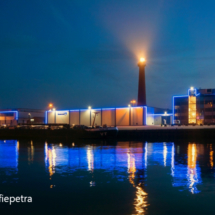 Hoge licht vuurtoren IJmuiden © fotografiepetra