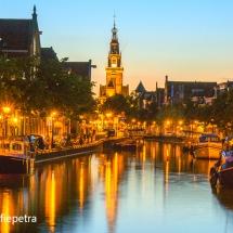 Alkmaar, Luttik Oudorp zicht op de Waagh © fotografiepetra