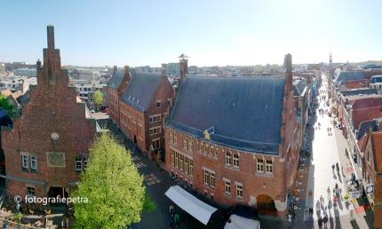 Panorama hoek Langestraat Alkmaar © fotografiepetra