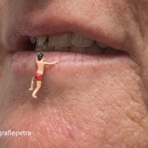 Aan je lippen hangen © fotografiepetra