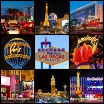 Collage Las Vegas © fotografiepetra